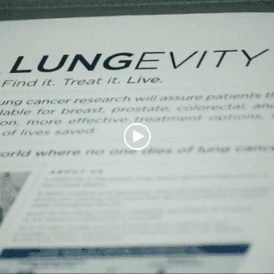 LUNGevity Gala Video
