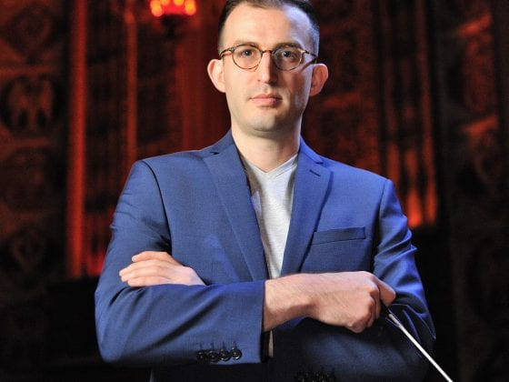 Caleb Young | Fort Wayne Philharmonic Assistant Conductor | Photo by Thesera Thompson